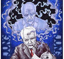 Portrait of Carl Jung by Jeremy Baum