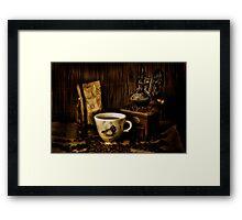My Favourite Coffee Mug Framed Print