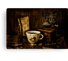 My Favourite Coffee Mug Canvas Print