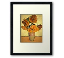 Sunflowers by Kate Framed Print