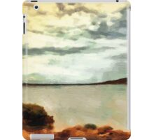 Stormclouds Over The Island iPad Case/Skin