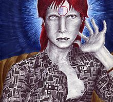 David Bowie by Jeremy Baum