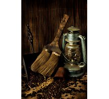 Dustpan & Broom Photographic Print