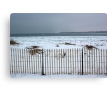 Winter on Lake Huron 3 Canvas Print