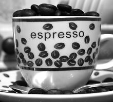 Expresso Anyone? by Christine King