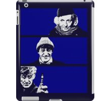 The Old Man, The Clown and The Dandy iPad Case/Skin