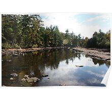 Drained Suncook River Poster