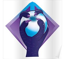 Purple taloned hand holding an orb symbol of the Malazan empire Poster