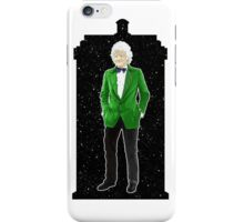 Third Doctor and The TARDIS iPhone Case/Skin