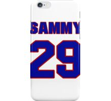 National football player Sammy Knight jersey 29 iPhone Case/Skin