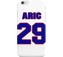 National football player Aric Morris jersey 29 iPhone Case/Skin