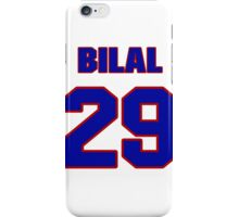 National football player Bilal Powell jersey 29 iPhone Case/Skin
