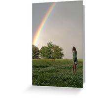Childhood Dreams Greeting Card
