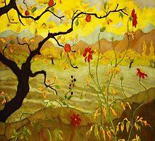 Fruit Tree - Pommier aux fruits rouges by annumar
