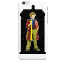 Sixth Doctor and The TARDIS iPhone Case/Skin