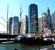 PIER 17 AT SOUTH STREET SEAPORT by KENDALL EUTEMEY