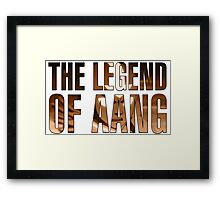 The Legend of Aaang Framed Print
