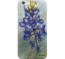 Bluebonnet Stem iPhone Case/Skin