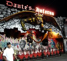 DANTE'S INFERNO IN CONEY ISLAND, BROOKLYN, NEW YORK CITY by KENDALL EUTEMEY