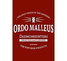 The Ordo Malleus Photographic Print