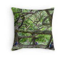 Entwined in Love Throw Pillow