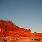 Red Rocks and Moon by seadworf