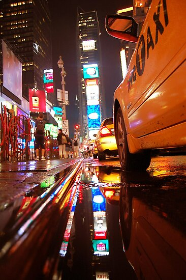 time square taxi by yuca