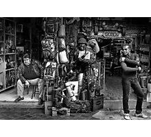 the vendors (Athens)  Photographic Print