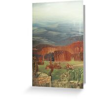 Forest Smelter Greeting Card