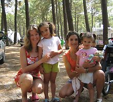 Camping site with my friends in the Landes by dolphin
