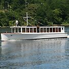 Seneca Lake Tour Boat by Cheri Perry