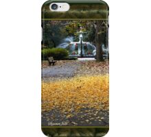 A Carpet of Golden Leaves iPhone Case/Skin