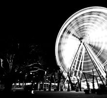 Ferris Wheel, South Bank by Matthew Stewart
