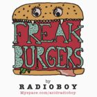 FREAK BURGERS BRAND by RADIOBOY by radioboy