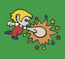 Amazing Alex Kidd punch! Kids Clothes