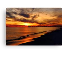 Friday Sunset Canvas Print