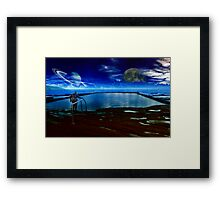 Dawn at the Pool of Regeneration  Framed Print