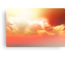 Sunny Glory Canvas Print