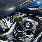 The Motorcycle as Art: Harley-Davidson Heritage Softail by John Schneider