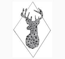Geometric Deer by ETHDesigns