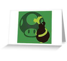 Iggy (Mario) - Sunset Shores Greeting Card