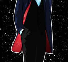 Twelfth Doctor and The TARDIS Sticker