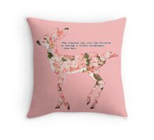 Dear Nature  Throw Pillow