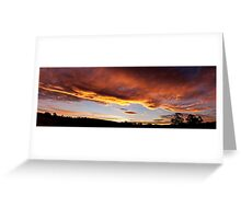 Sunset in Wilmot Greeting Card