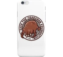 Save the Headcrabs! iPhone Case/Skin