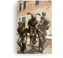Urban Action Metal Print