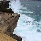 Eaglehawk Neck cliffs - s.e. Tasmania by gaylene