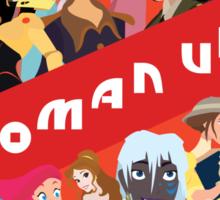 Woman Up! Sticker