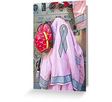 Pink Ribbon Tour Greeting Card