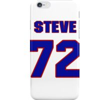National football player Steve Courson jersey 72 iPhone Case/Skin